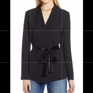 Halogen Tie Waist Jacket